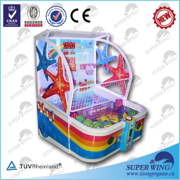 Sharpshooter Gemini amusement center children basketball game machine