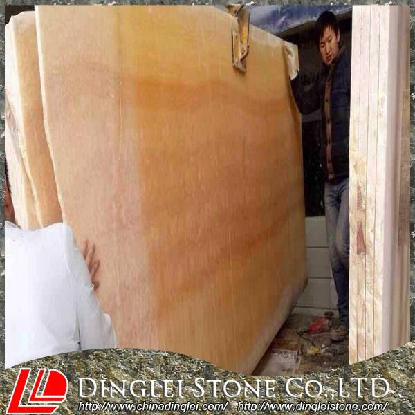 Honey Onyx Marble Slab