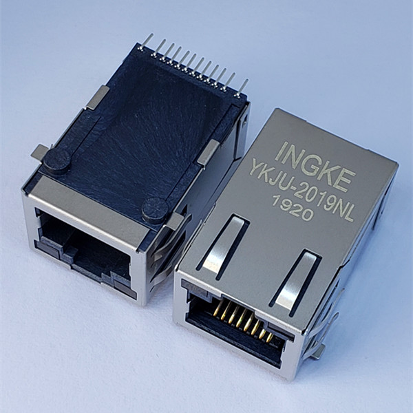 Pulse JX30-0005NL YKJU-2019NL Single Port SMT 100 Base-T RJ45 LAN with Transformer