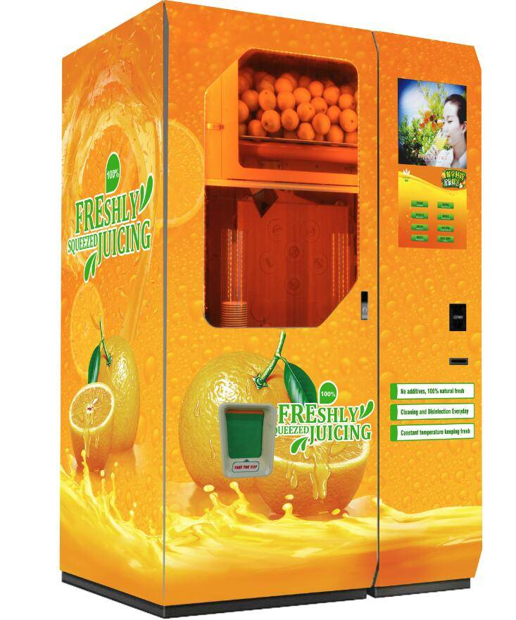 Good Quality Most popular fresh Orange Juice Vending Machine