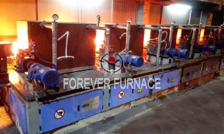 Steel billet induction reheating