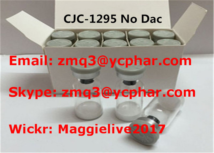 Effective CJC-1295 Acetate Human Growth Hormone Peptide Bodybuilding 99% purity 863288-34-0