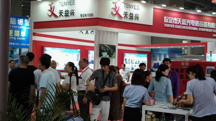 The 19th China (Guangzhou) Int'l Tube & Pipe Processing Equipment Exhibition booth