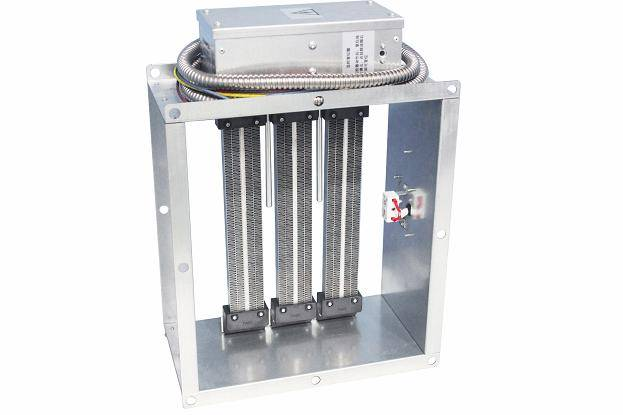 Duct PTC heater