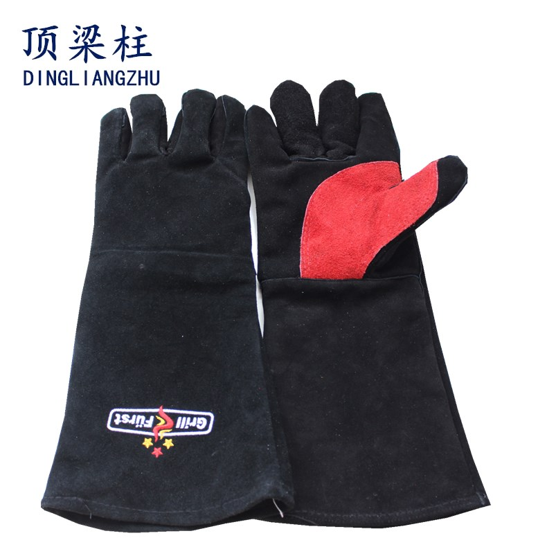 The Heat Treatment Leather Welding Gloves