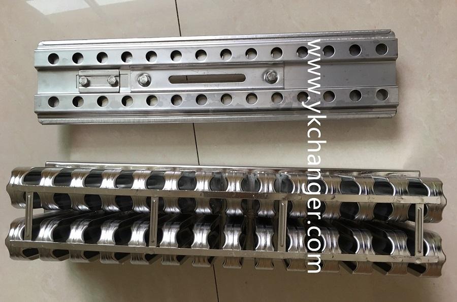 Stainless steel gelato ice cream molds 2x14 28sticks brida 63ml top quality