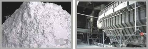 Kaolin powder for paint, rubber and plastic
