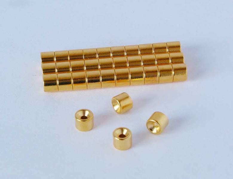 China Sintered Countersunk Permanent Neodymium NdFeB Magnets