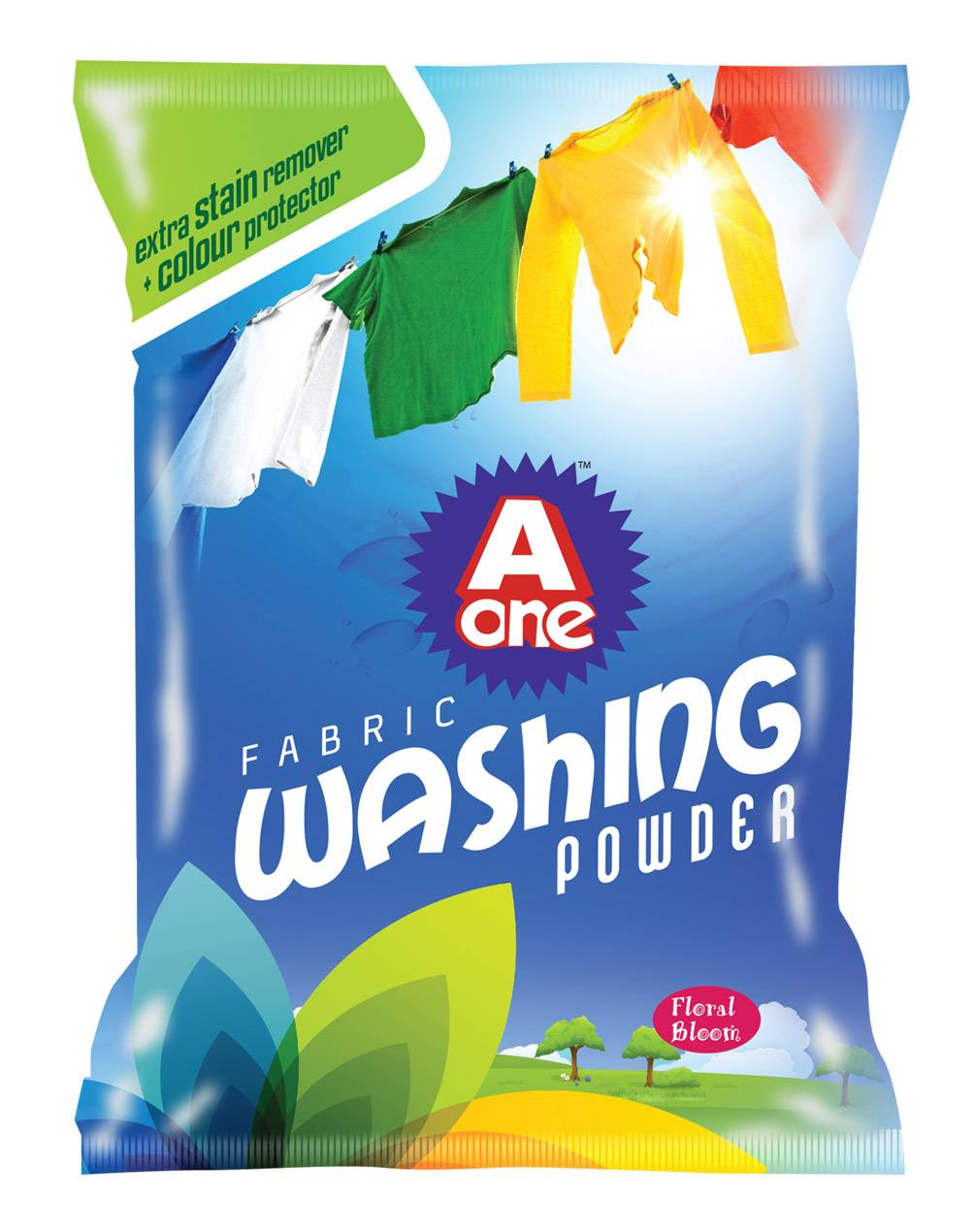 exported Africa detergent washing powder with low price