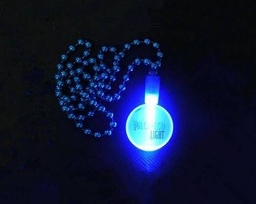 flashing blinking necklace led for party