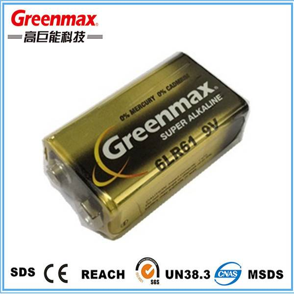 Professional super alkaline 6lr61 battery manufacturer
