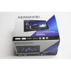 Kenwood DDX370 Double Din In-Dash Touchscreen Car DVD Player