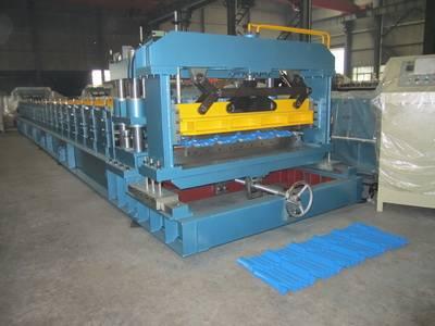 Aluminium Steptile Roofing Sheet Corrugation Machine