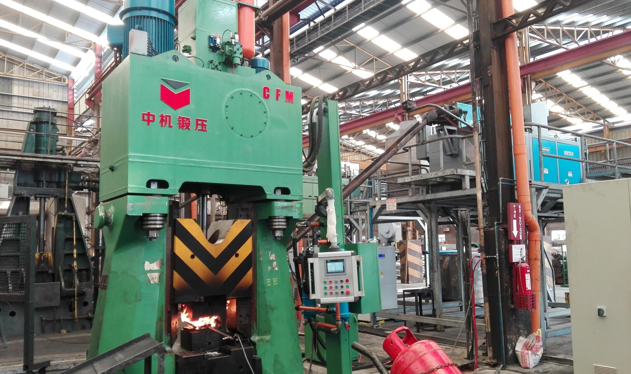 C88K-25kJ Electro Hydarulic Die Forging Hammer/Steam Forging Hammer working in Philippines
