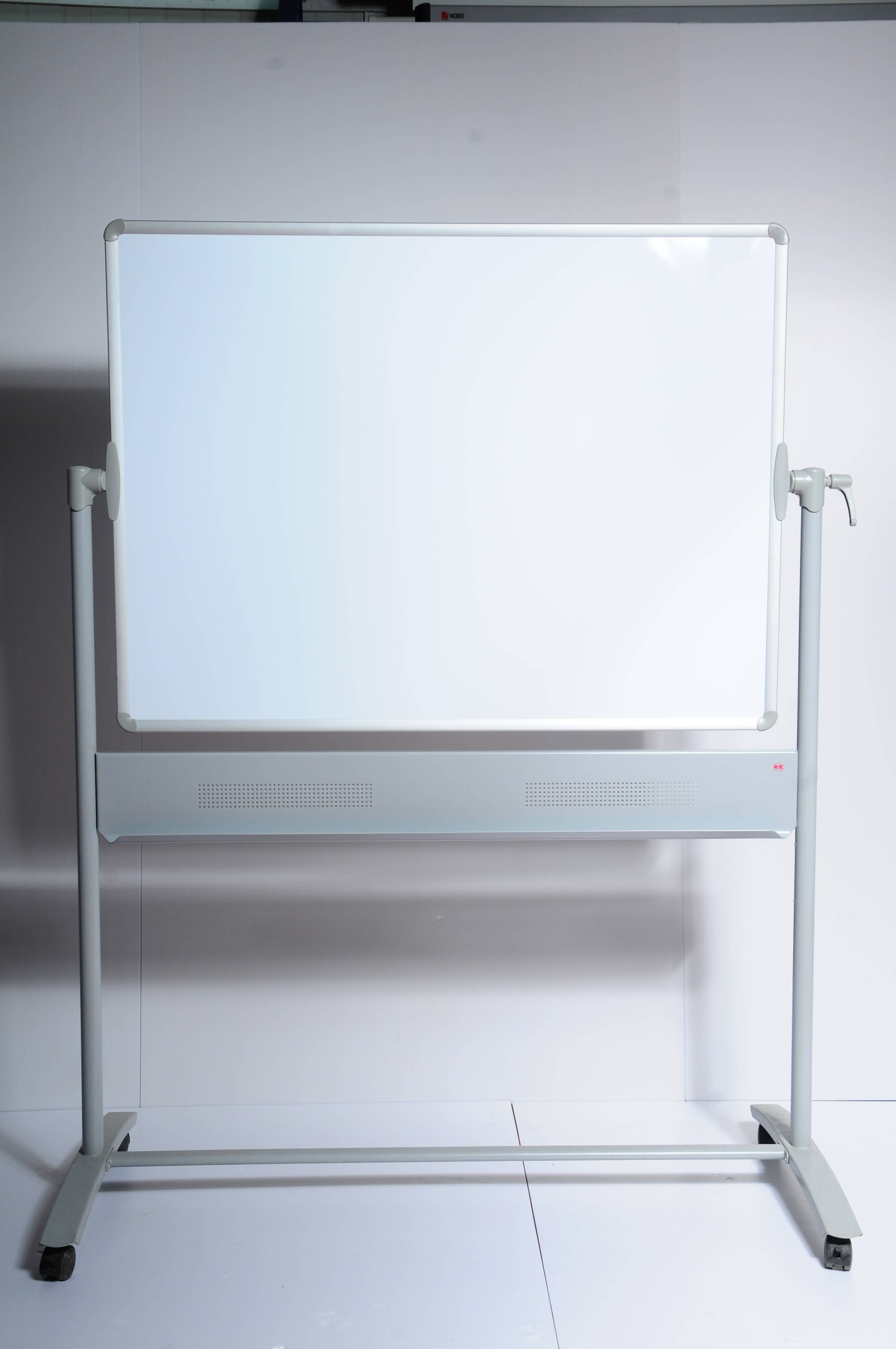 revoling white board,wrting board,lacquered steel,melamine or enamel coated surface