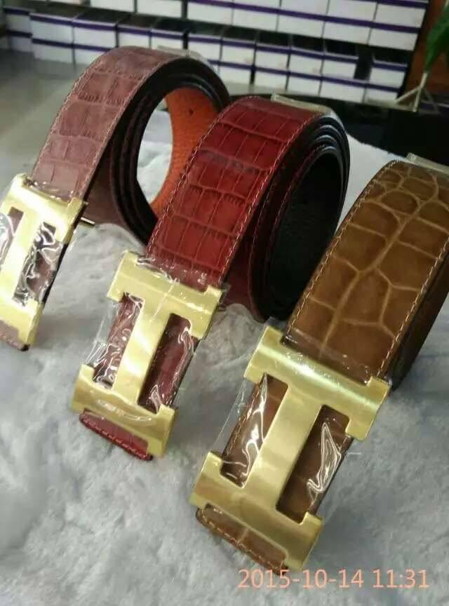 mens fancy stylish high quality genuine leather bele