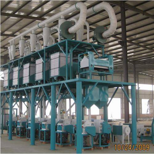 Corn Flour Milling Machine 15tpd to 200tpd