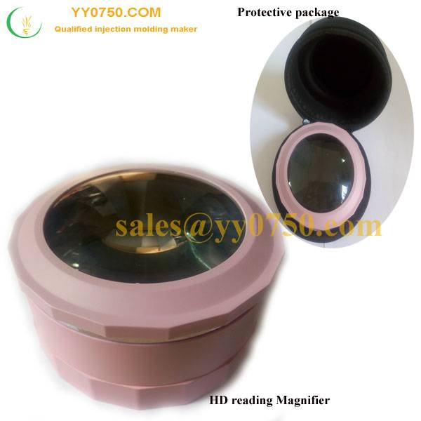 Injection plastic moulded Magnifier