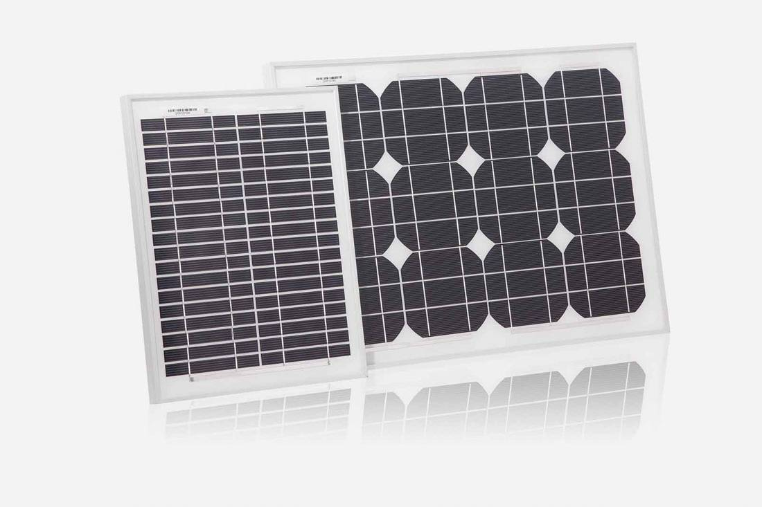 20W / 18V  monocrystalline silicon  solar panel