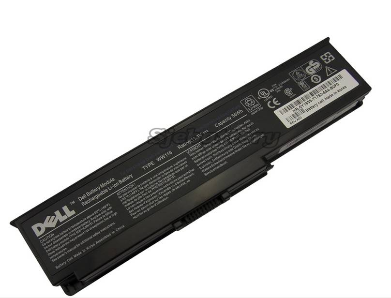 NEW Original Battery DELL 312-0543 312-0584 451-10516 6Cells 6Cell 56WH Genuine