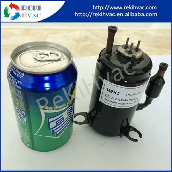 R134A Miniature Compressor Refrigerator Compressor 24V DC RL20D24C