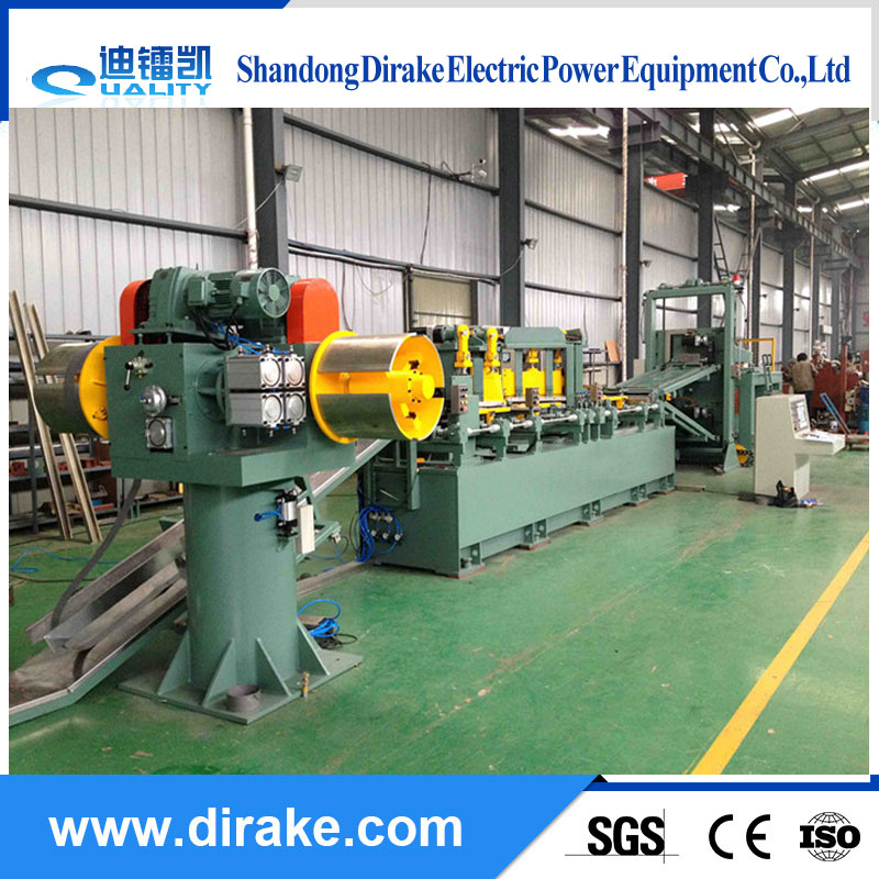 Transformer silicon steel sheet horizontal shearing line