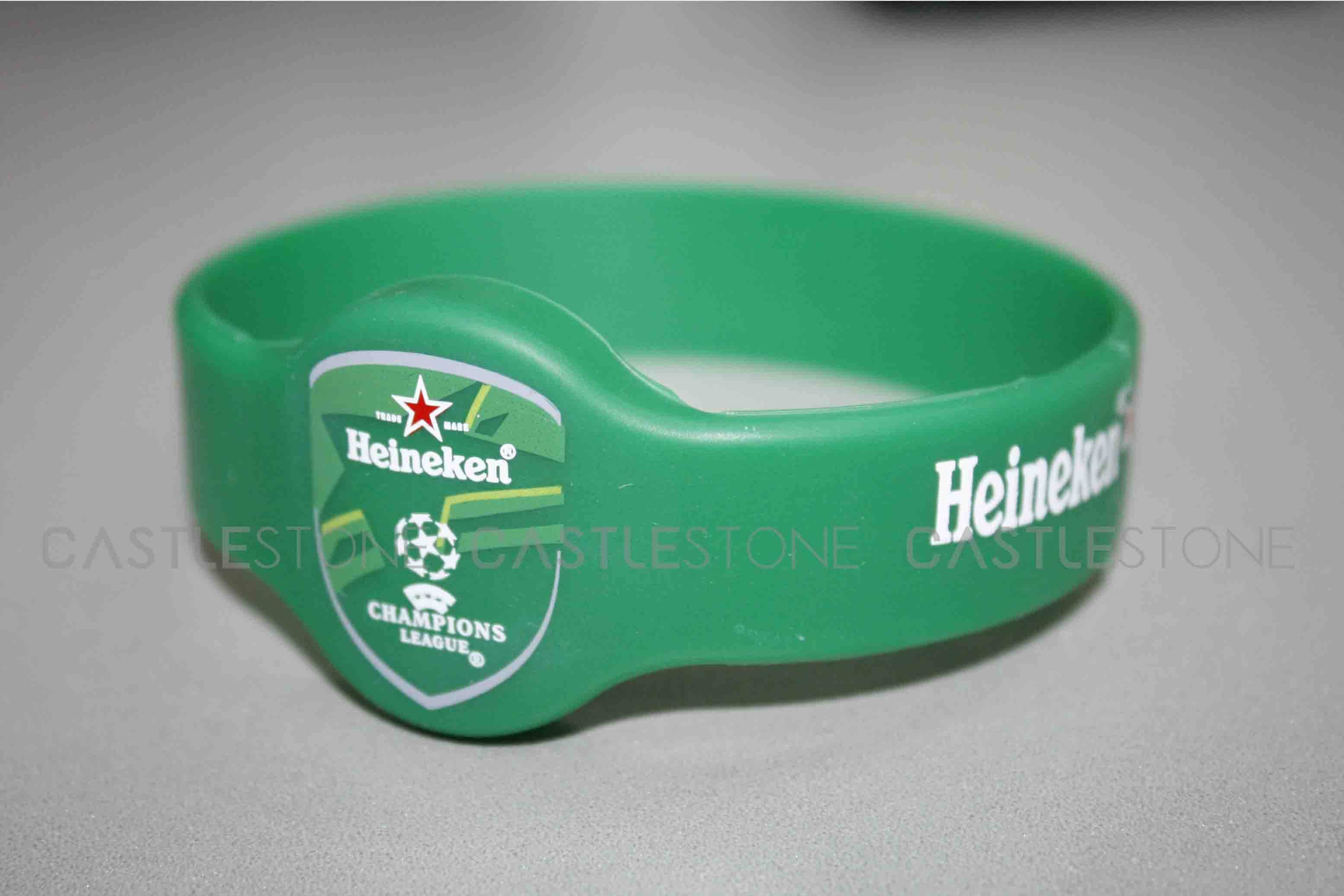 Colorful Fashion Rfid Silicone Wristband