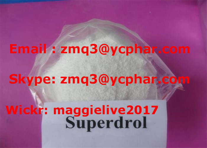 Oral Anabolic Steroids Methyldrostanolone Superdrol CAS 3381-88-2 for Muscle Building