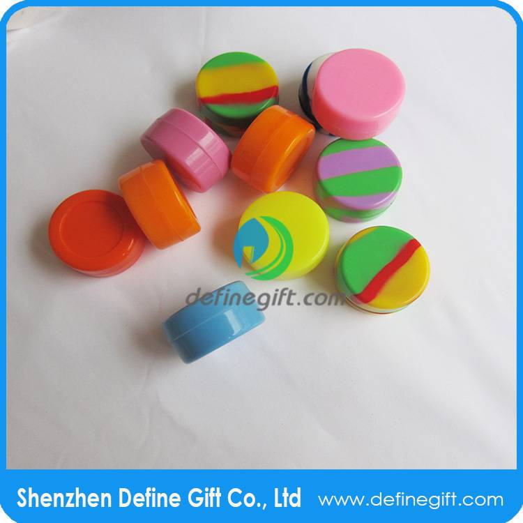 silicone storage container jar, smoke box for sticky wax product container storage,oil silicone cont