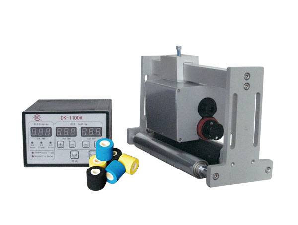 DK-1100A Hot Ink Roll Date Coding Machine for horizontal flow packer