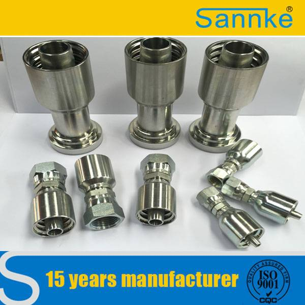 China Supplier High Pressure Carbon Steel Hydraulic Testing Fitting