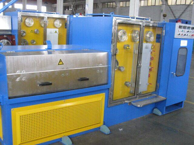 Intermediate Fine Wire Drawing Machine with annealing