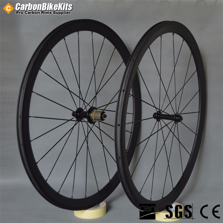 CBK PW38C 38mm Clincher Carbon Wheelset