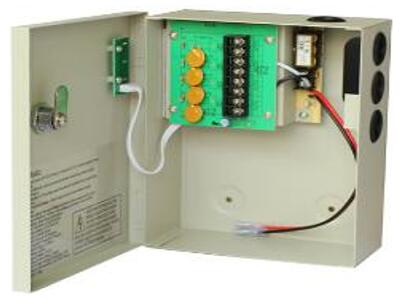 DC12V5A CCTV Power Supply With Battery backup