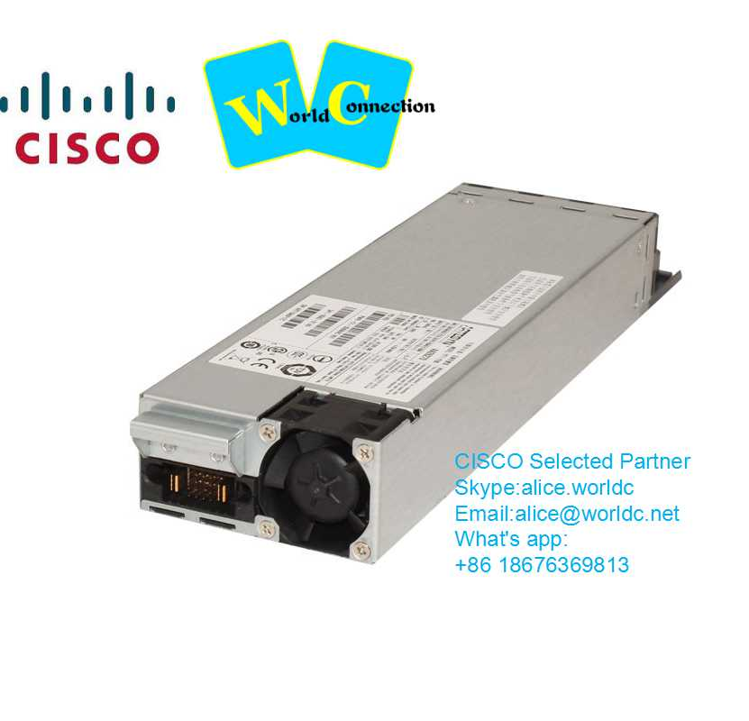 Cisco switch PWR-C2-1025WAC= Spare 2960X - 2960XR - 3650-48 FULL POE Series Power Supply