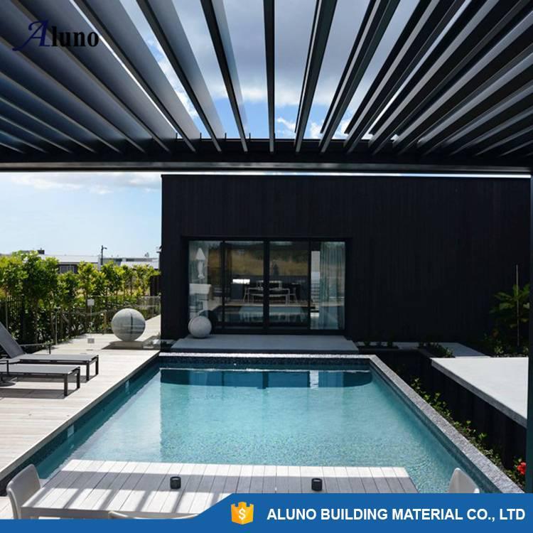 Automatic Waterproof Aluminum Garden Pergola Covers