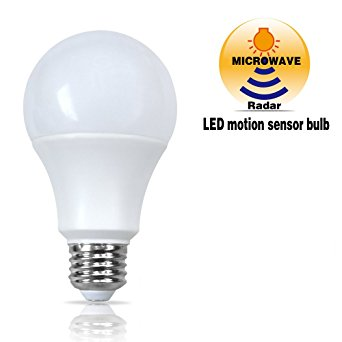 Microwave radar motion sensor light bulb intelligent light bulbs ceiling bulbs