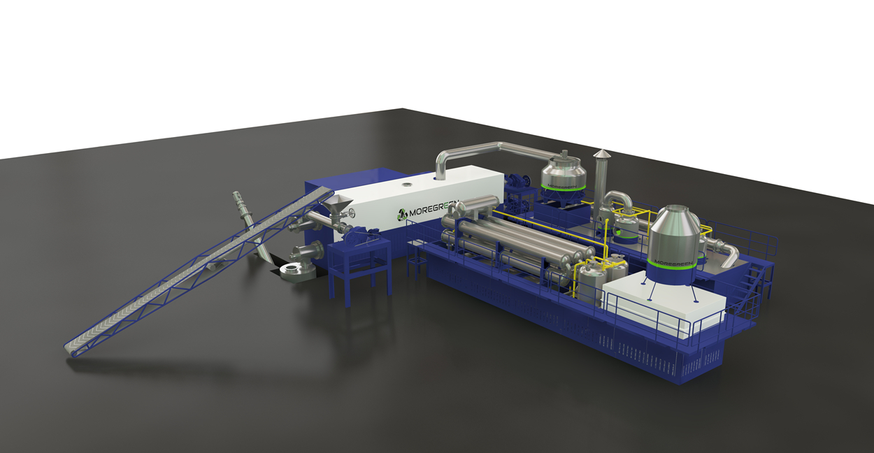 MoreGreen Fully Continuous Pyrolysis Plant
