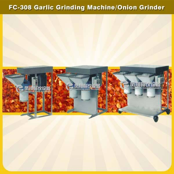 FC-308 single/double/triple tubes garlic grinding machine