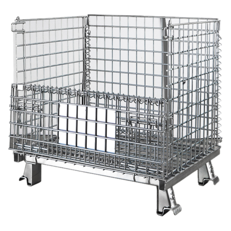 Wire Mesh Container (Collapsible)