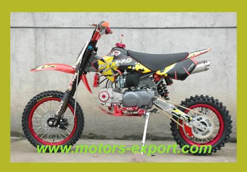 New 138cc oil-cooled Dirt Bike