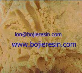 Mixed bed resin for pharmaceutical applications.
