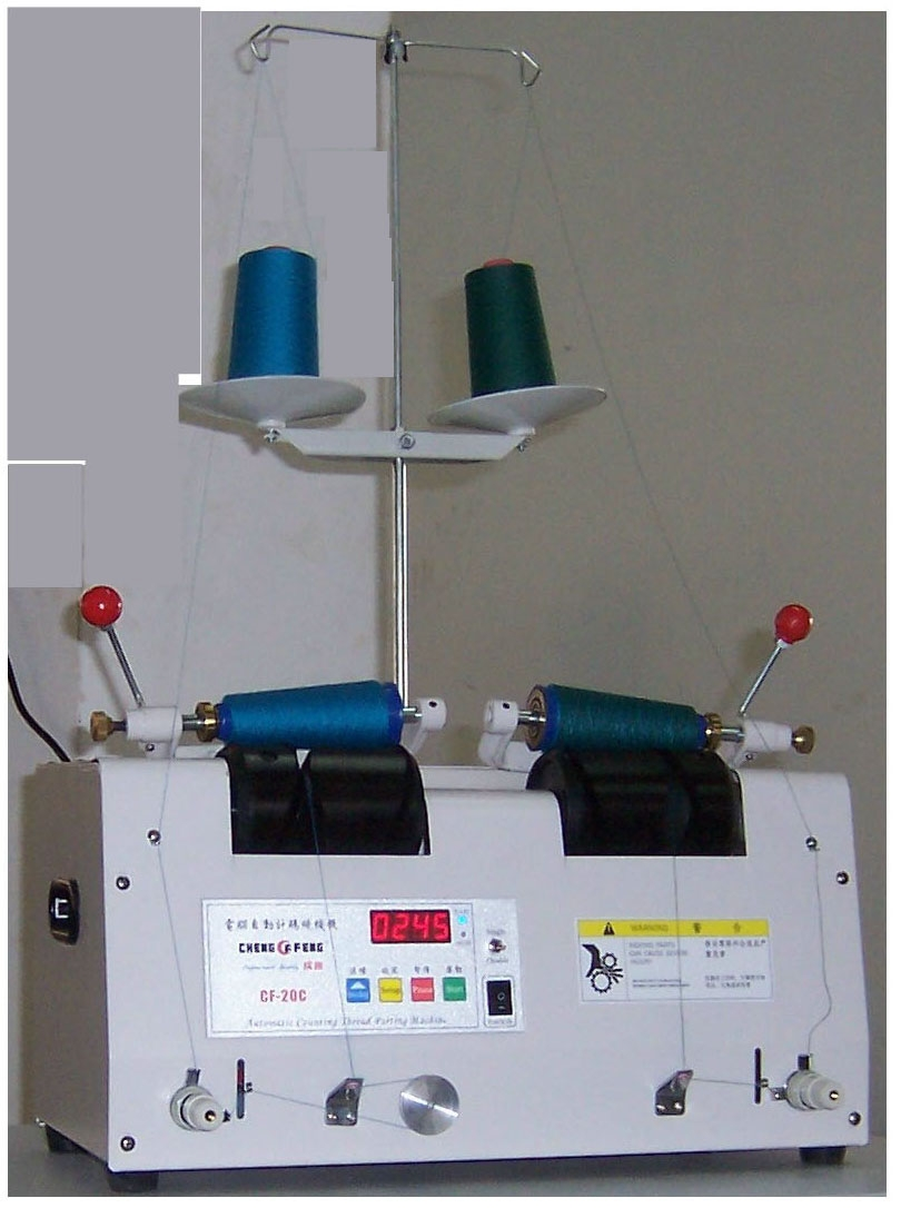 computer wind thread machine