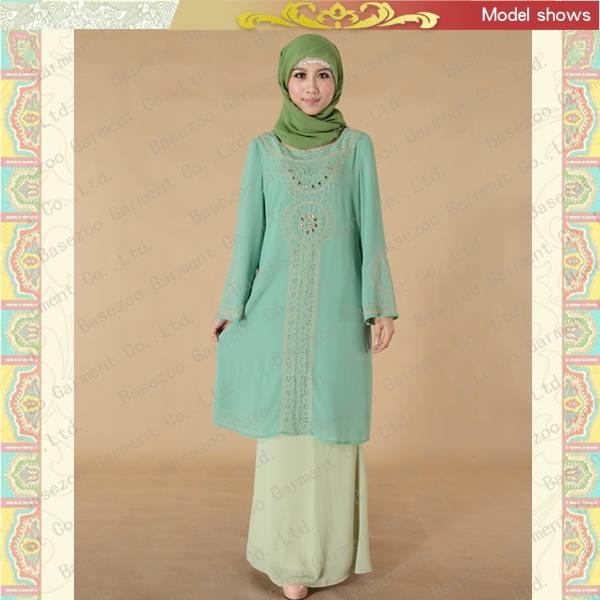 MF19120 beautiful maxi dress muslim