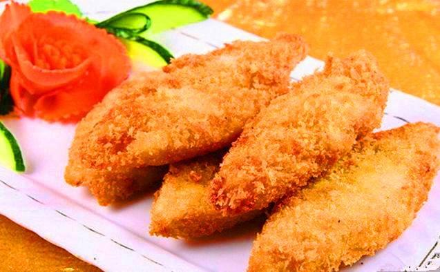 Frozen breaded fish fillet cod fillet