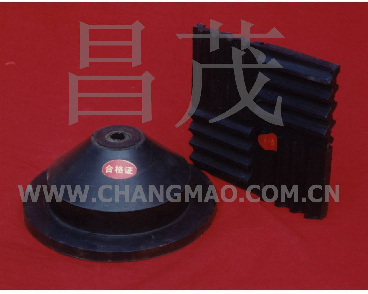 JGD-D rubber vibration isolating pad