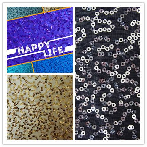 sequin embroidery fabricy