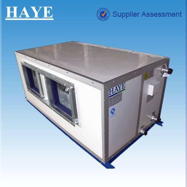rated air flow volume:10500 cubic meter/h fresh air AHU (air handling unit) 4 pipes for hospital