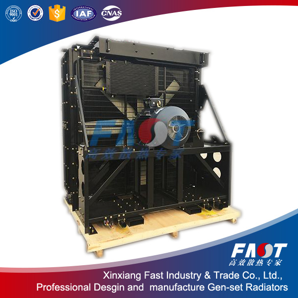 Professional Design MTU 20V4000G23 Diesel Genset Radiators