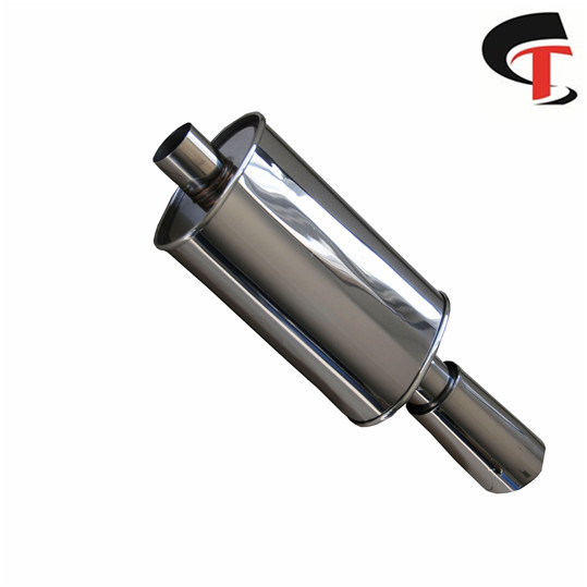 High Polished Auto Exhaust Muffler